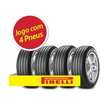Kit 4 Pneu Aro 15 Pirelli 195/55r15 Cinturato P7 85h