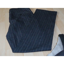 Pantalón De Mezclilla Ligero Con Spandex New York Talla L 12