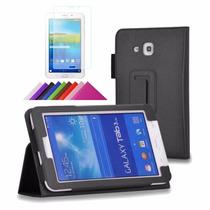 Capa Tablet Samsung Galaxy Tab3 7 T110 T111 Lite + Película