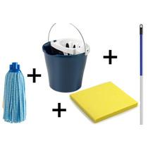 Kit De Limpeza Residencial Leve 1 Europeu !