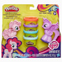 My Little Pony 2 Figuras C/ 4 Potes Orig. Hasbro Tuni- B0010