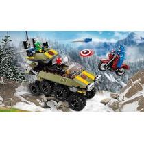 Lego Marvel Super Heroes Capitao America Vs Hydra