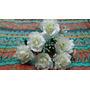 Ramos Flores Artificiales (paqx5 Ramitos De 6 Fls) Rosas