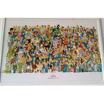 Quadro Original The Simpsons Grande 95x64