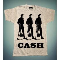 Playera Loust, Johnny Cash.