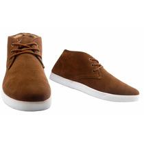 Zapatos Botines De Moda, Caballero, Tipo Gamuza