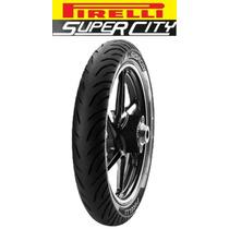 Pneu Traseiro Pirelli 100/80-18 Cg125 + Largo Marcio Motos