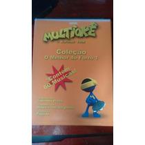 Cdvd Multiokê Coleção Forro - 3 Discos Dvd
