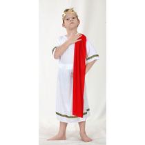 Disfraz De Emperador Romano Mediano Para Niños De 7-9 Años