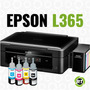 Impresora Epson L365 / Multifuncion Con Sistema Continuo!