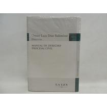 Livro Importado Manual De Derecho Procesal Civil