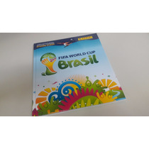 Álbum Copa Do Mundo 2014 Capa Dura Completo