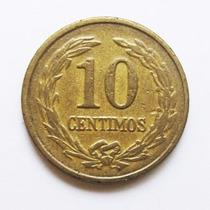 Moeda Paraguay 10 Centimos 1947