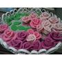 Rosas Comestiveis,pasta Americana.doces P/bolos Casamento