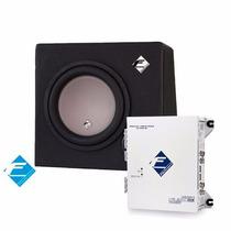 Kit Caixa De 250 Watts Rms Cx10n + Modulo Hs960-dx Falcon