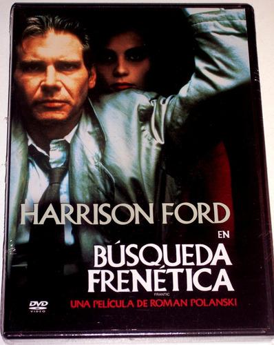 Dvd Búsqueda Frenética Frantic 1988 Harrison Ford Nuevo