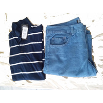 Kit Camisa Polo Mais Calça Jeans