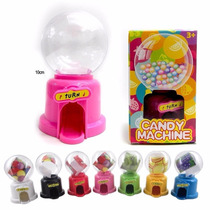 Mini Candy Machine Caramelos Rocklets M&m Confites Souvenir