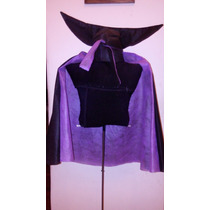 Capa Disfraz Dracula Transilvania 10-16 Halloween Brovillnet
