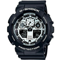 Relógio Casio Masculino G-shock Ga-100bw-1adr