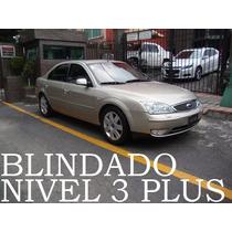 Mondeo 2005 Blindado Nivel 3 Plus V6 Maximo Equipo Remato!!