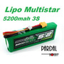 Bateria Lipo Multistar 5200mah 3s + Carregador Turnigy 80w