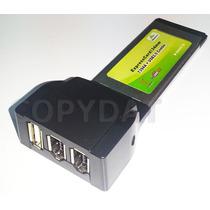Expresscard/34mm Combo 2 Ieee1394a Firewire 400 + 1 Usb2.0