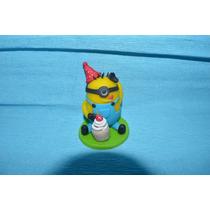 Souvenirs Personalizados Porcelana Fria Minions Cupcake