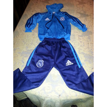 Conjunto Niño Real Madrid | B A R Ca (campera Y Pantalon)