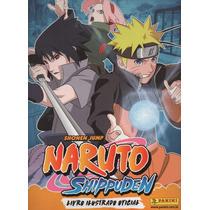 Álbum De Figurinhas Naruto Shippuden - Completo - Para Colar