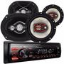 Alto Radio Pioneer Bluetooth+1par De 6
