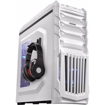 Kit Gabinete Tiger Branco + Fonte Corsair 500w Real Cx500