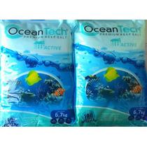 Sal Marinho Ocean Tech 6,7kg Faz 190litros + Sachê Biológico