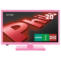 Tv Led 20 Hd Philco Ph20u21dr Receptor Digital Entrada Usb