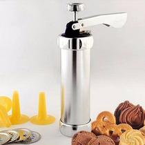 Cookie Press Maquina De Fazer Biscoito E Decoracao Em Bolo