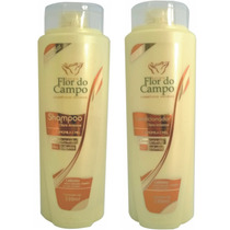 Kit Clareador Natural Camomila E Mel Shampoo Condicionador