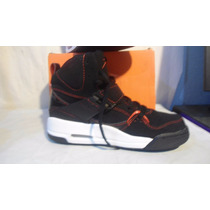 Jordan Tenis Bota Mod 524864 006 Negras Num 3.5mx Comodidad