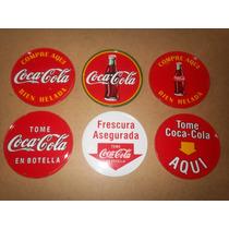 Posavasos Coleccion Coca Cola Vintage Metal Corcho Vea Leer