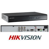 Dvr Hikvision Ds-7204hghi-f1 - 4 Cámaras