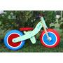 Bicicleta De Madera Sin Pedales - Rodado 12 - 2 A 5 Años