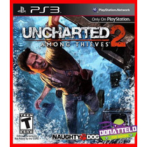 Uncharted 2 Ps3 Cód.psn Among Thieves Legenda Portugues