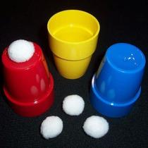 Truco De Magia / Cubiletes De Plástico / Cups & Balls