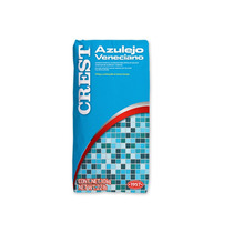 Pega Veneciano Junteador Azulejo 2en1 Albercas Azul O Blanco