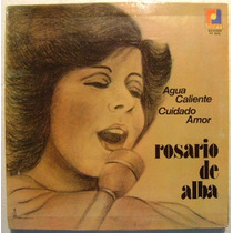 Rosario De Alba 1 Disco Lp Vinilo