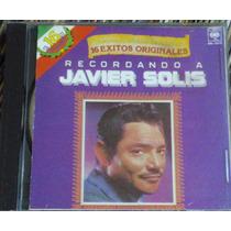 Recordando A Javier Solis 16 Exitos Originales Cd Impecable