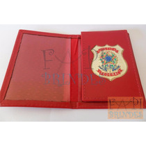 Carteira Distintivo Justiça Federal P75v Nãoé Agente Polícia