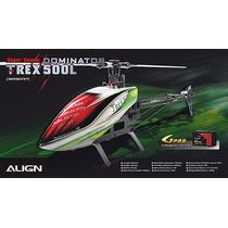 Helicóptero Align T-rex 500l Dominator Super Combo Rh5oe07x7