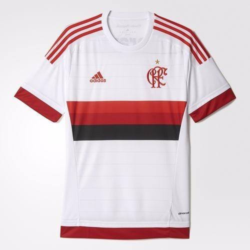 Camisa Flamengo Branca 2015 adidas Original - R  159 c091c7689f684