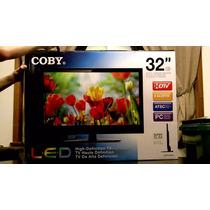Tv 32 Led 1080p Marca Coby, Modelo 2014 Hdmi, Usb, Vga