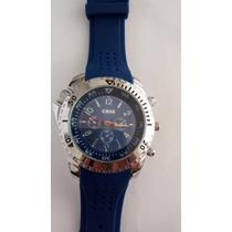 Relógio Masculino Importado Azul Marca Coss